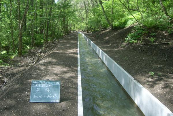 県営かんがい排水事業千ヶ滝地区