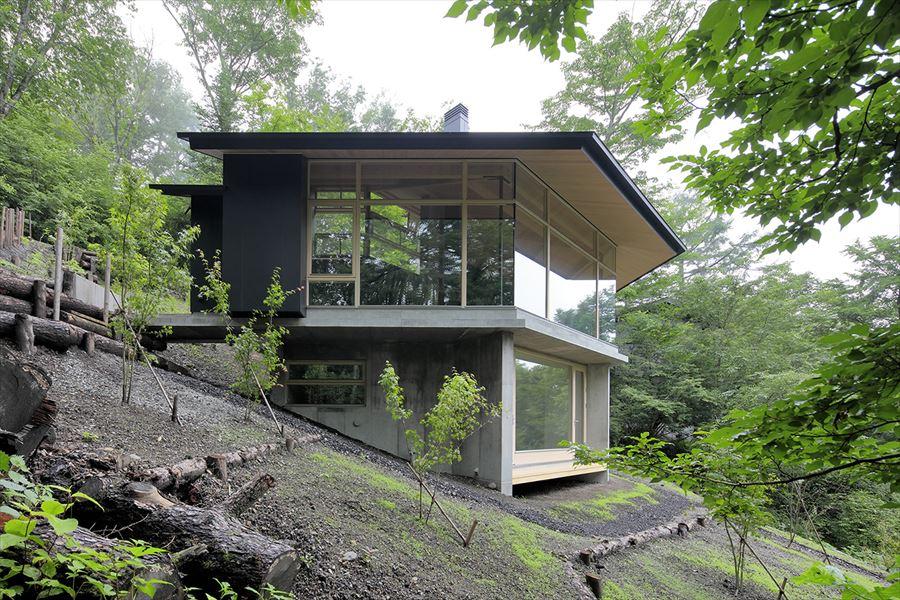 屏風絵の家